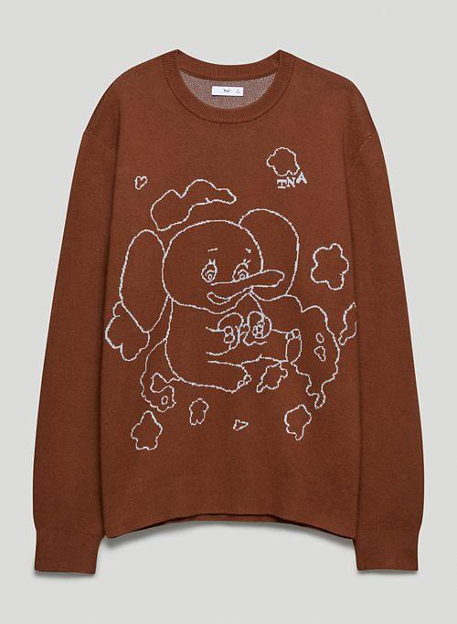 CENTURY SWEATER - Graphic crew-neck sweater