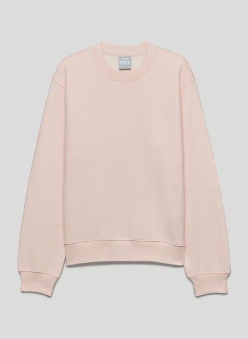 COZY FLEECE PERFECT CREW SWEATSHIRT - Crew-neck pullover sweatshirt