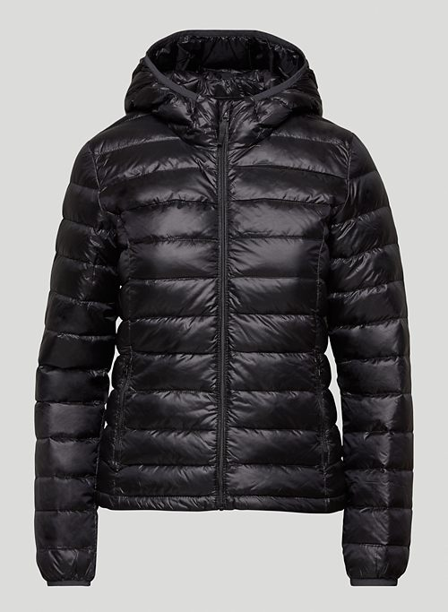BOTANIE PUFFER - Packable goose-down puffer jacket