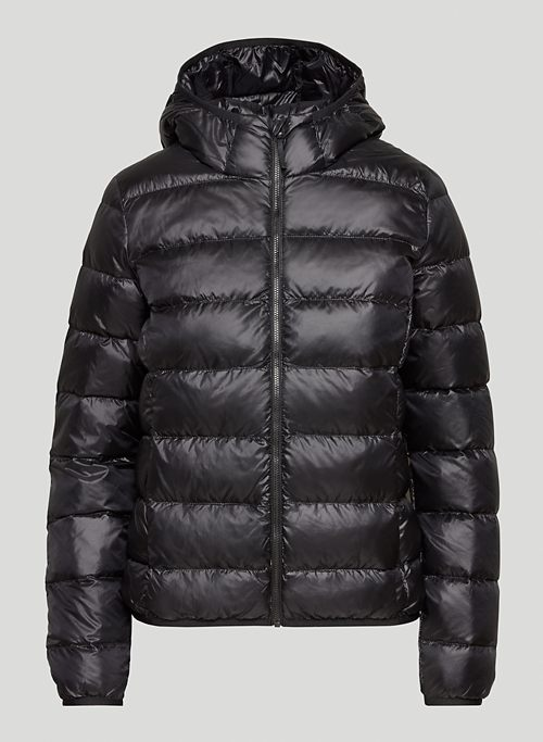 THE LITTLE PUFF - Packable goose-down puffer jacket
