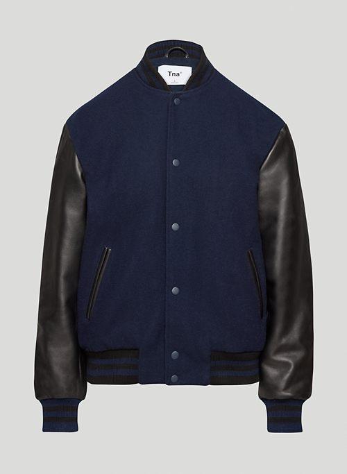PRINCE JACKET - Varsity-inspired bomber jacket