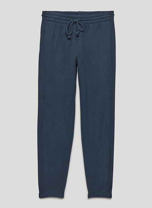 COZY FLEECE BOYFRIEND SWEATPANT - Fleece boyfriend-fit sweatpants