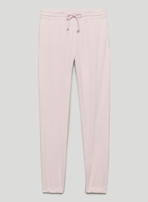 AIRY FLEECE PERFECT SWEATPANT - Mid-rise fleece sweatpants