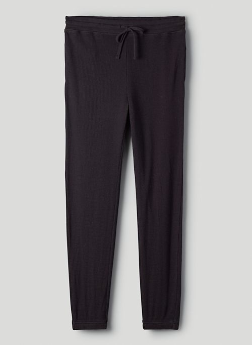 THERMAL JOGGER - Mid-rise thermal joggers