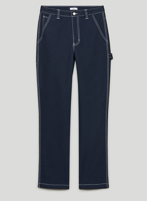 GREENWICH PANT - High-waisted painter pants