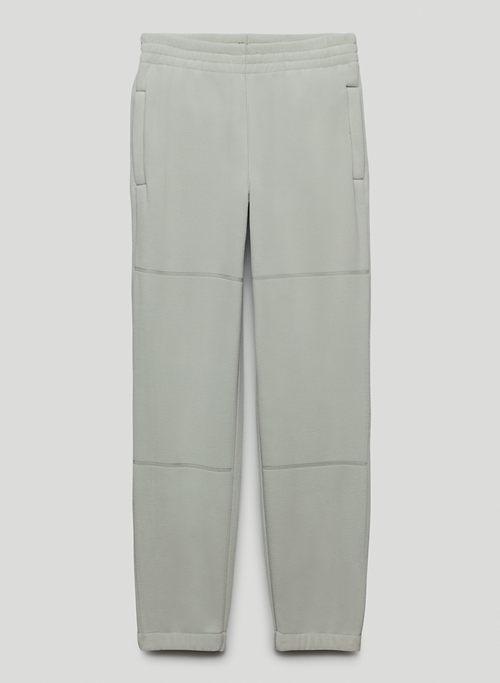 POLAR JOGGER - Elastic-cuff Polar fleece joggers