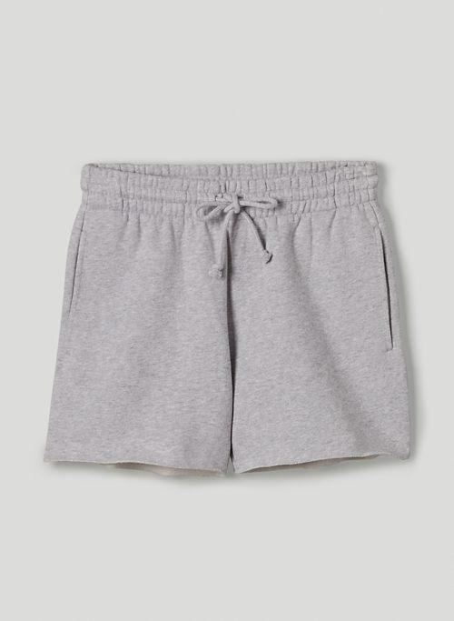 """COZY FLEECE BOYFRIEND 3"""" SWEATSHORT - Mid-rise, boyfriend-fit sweatshorts"""