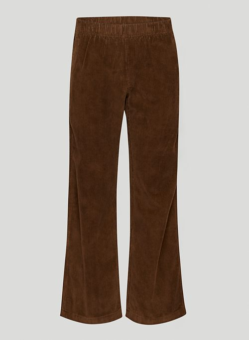 CARLAW PANT - Mid-rise corduroy pants