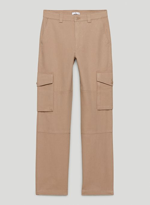 CHAMBERS PANT - Long, mid-rise utility cargo pants