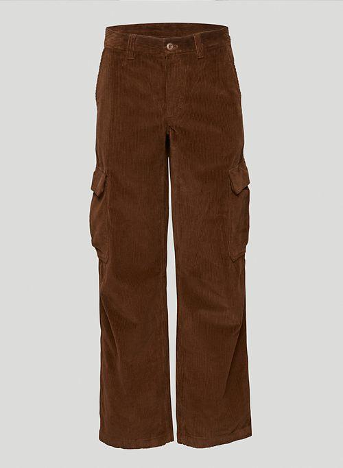 CORBETT PANT - Corduroy cargo pants