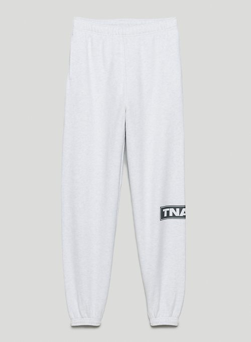 COZY FLEECE MEGA SWEATPANT - Mid-rise, oversized sweatpants