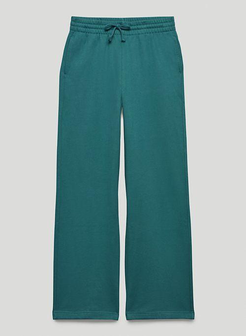 EXTRA FLEECE BOYFRIEND WIDE SWEATPANT - Wide-leg organic cotton sweatpants