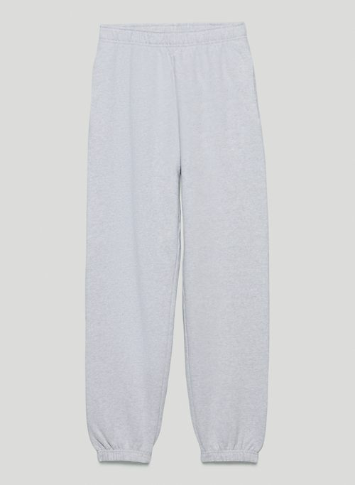 EXTRA FLEECE BOYFRIEND BASIC SWEATPANT - Mid-rise, boyfriend-fit organic cotton sweatpants