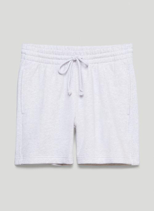 """COZY FLEECE BOYFRIEND 5"""" SWEATSHORT - Mid-rise fleece sweatshorts"""