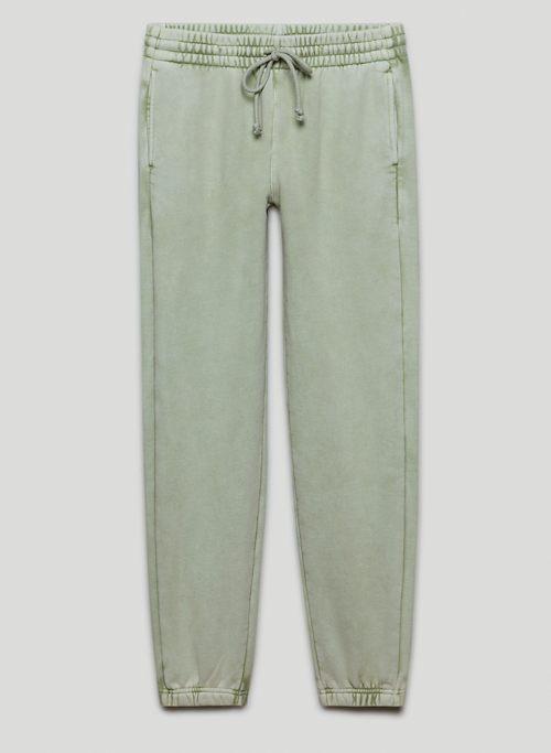 COZY FLEECE BOYFRIEND SWEATPANT - Mid-rise fleece sweatpants