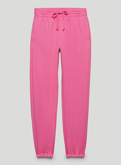 EXTRA FLEECE BOYFRIEND SWEATPANT - Mid-rise drawcord sweatpants