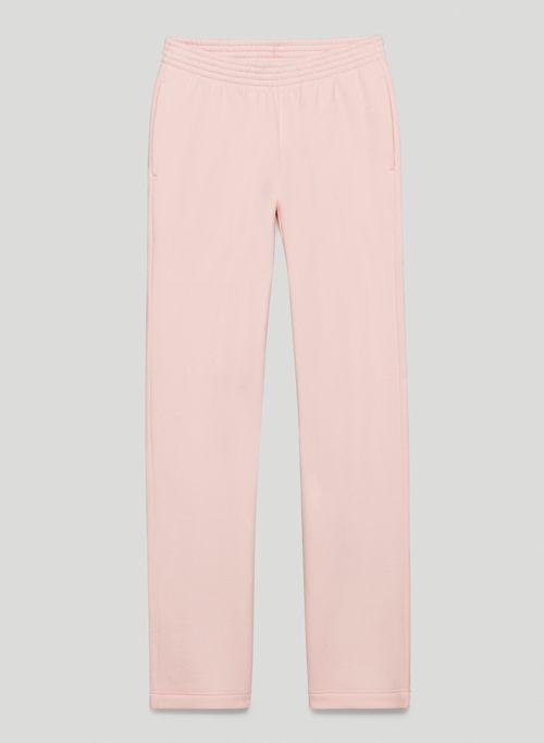 COZY FLEECE BOYFRIEND STRAIGHT SWEATPANT - Mid-rise, boyfriend-fit sweatpants