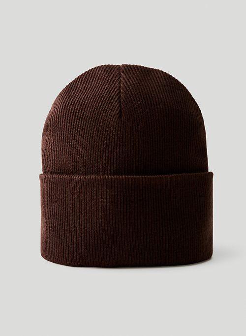 PEAK BEANIE - Cuffed rib-knit beanie