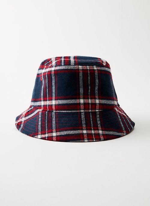 HOWARD BUCKET HAT - Flannel bucket hat