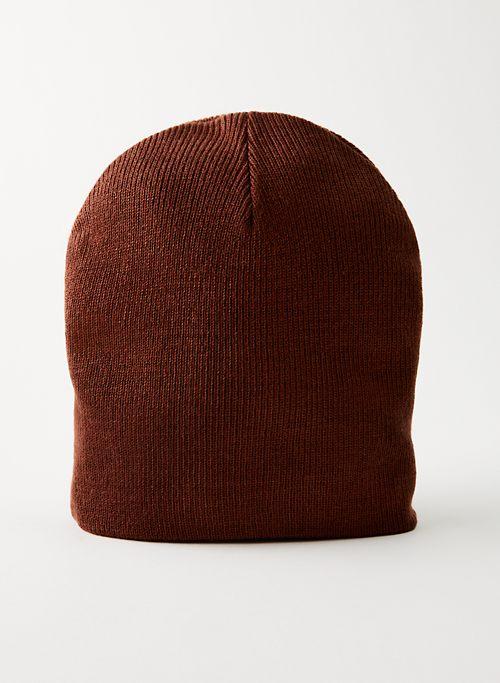 HUNTER BEANIE - Rib-knit beanie