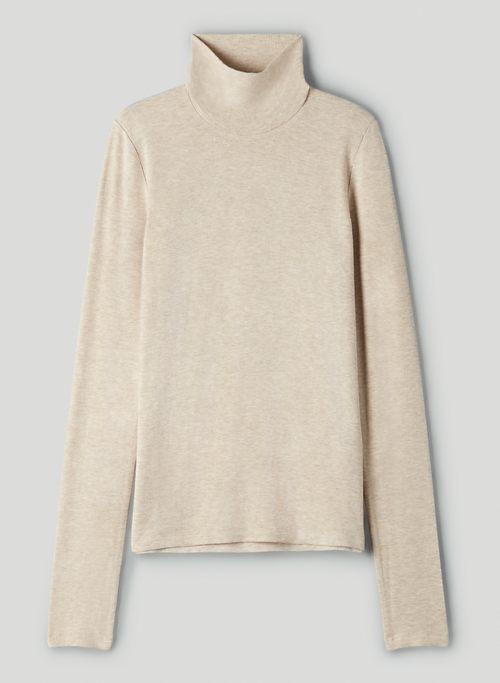 ONLY TURTLENECK - Ribbed long-sleeve turtleneck shirt
