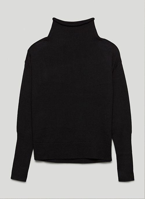 CYPRIE TURTLENECK - Mock-neck wool sweater