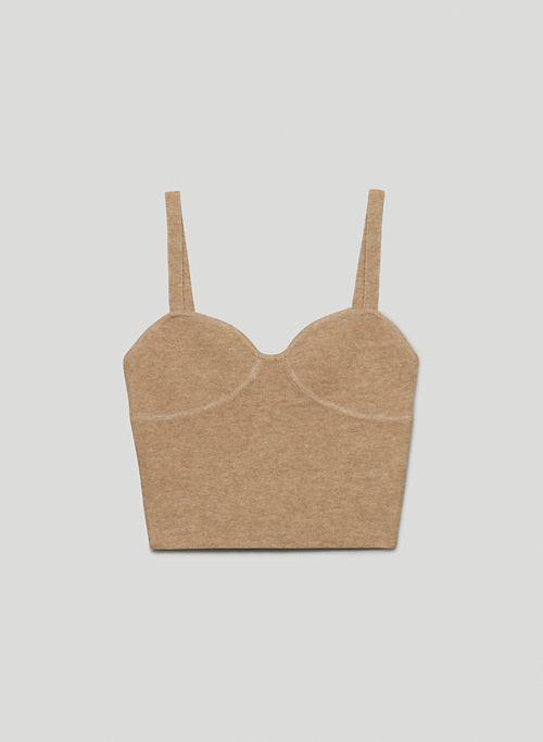 SICILY SWEATER - Bustier sweater tank top