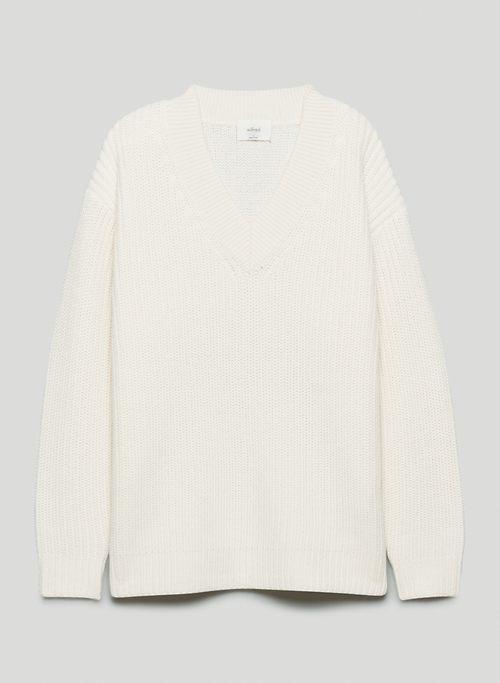 BELIZE SWEATER - Oversized, V-neck sweater