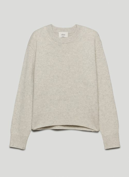 MARIA CASHMERE SWEATER - Crew-neck cashmere sweater