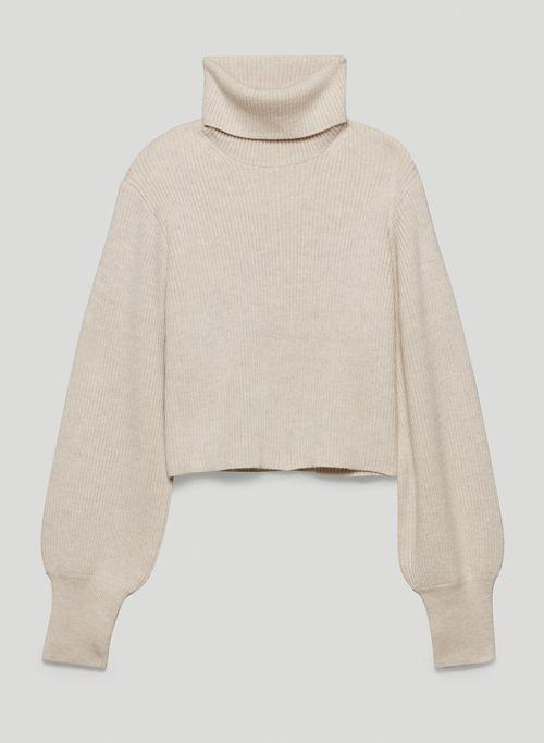 REBECCA TURTLENECK - Merino wool turtleneck sweater
