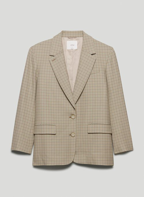 SOPHIA BLAZER - Single-breasted twill blazer