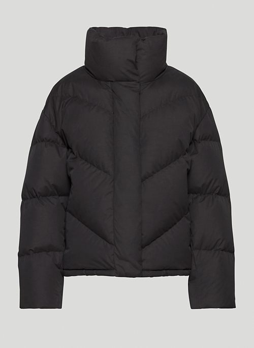 THE CLOUD PUFF™ - Funnel-neck goose-down puffer jacket