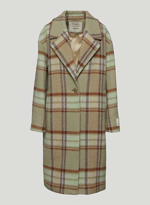 THE ONLY COAT - Oversized, single-breasted wool-cashmere coat