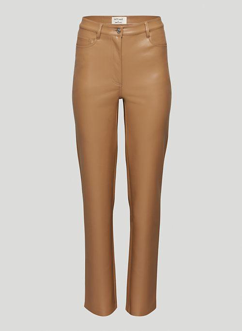 MELINA PANT - High-waisted, Vegan Leather pants