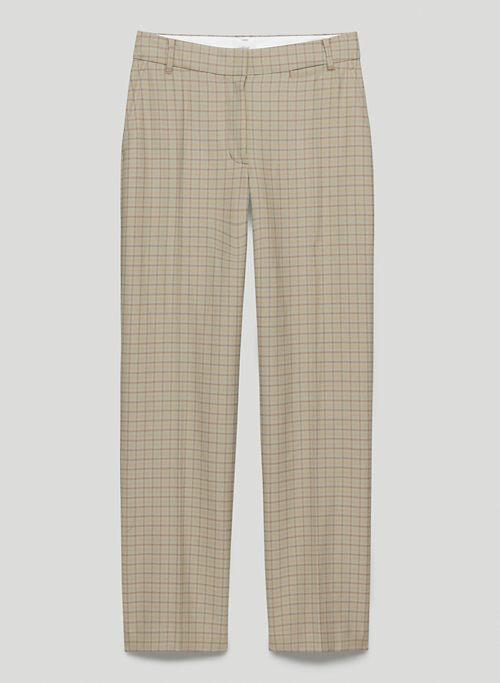 DANIKA PANT - Mid-rise twill trousers