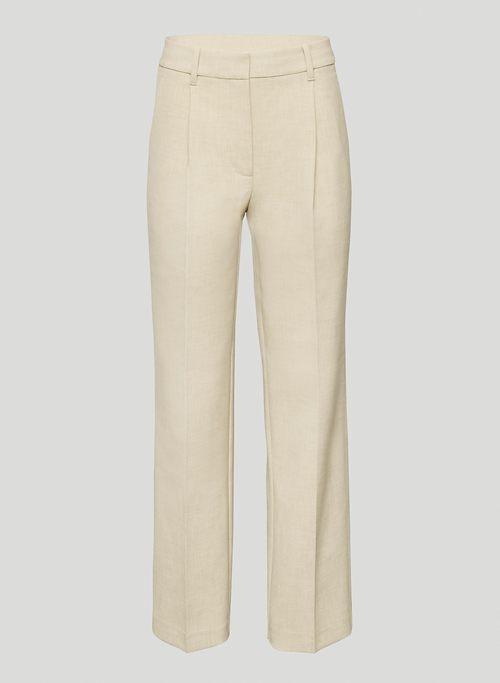 IBIZA PANT - High-waisted, pleated pants