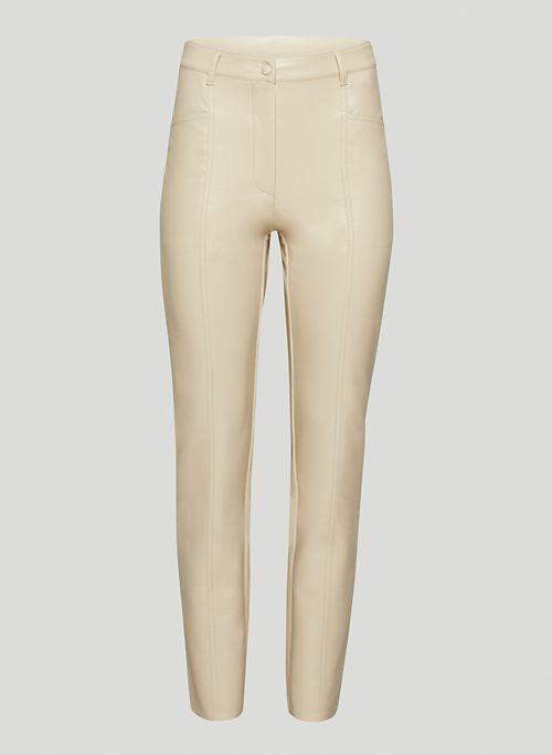 NEW REBEL PANT - High waisted Vegan Leather pants