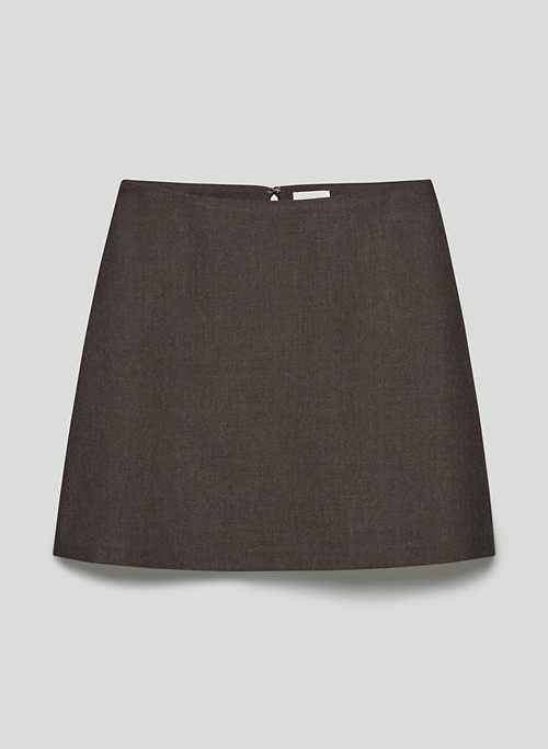 CLASSIC MINI SKIRT - A-line mini skirt