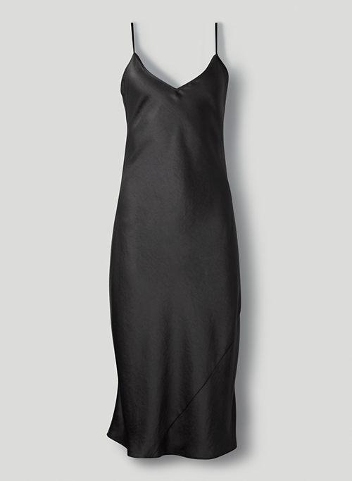 ONLY SLIP DRESS - Satin midi slip dress