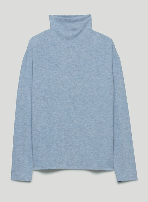 FREE LOUNGE MOCKNECK - Mock-neck, long-sleeve shirt