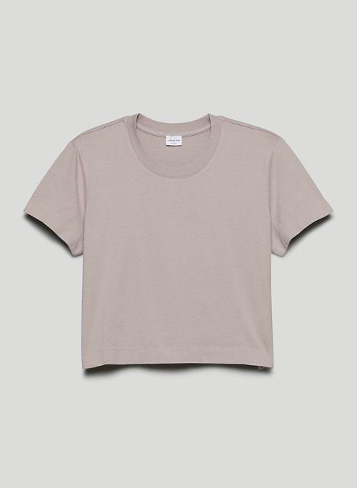 WEEKEND T-SHIRT - Boxy crew-neck t-shirt