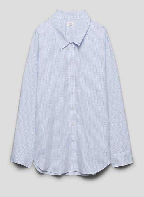 RELAXED BUTTON-UP - Relaxed poplin button-up shirt