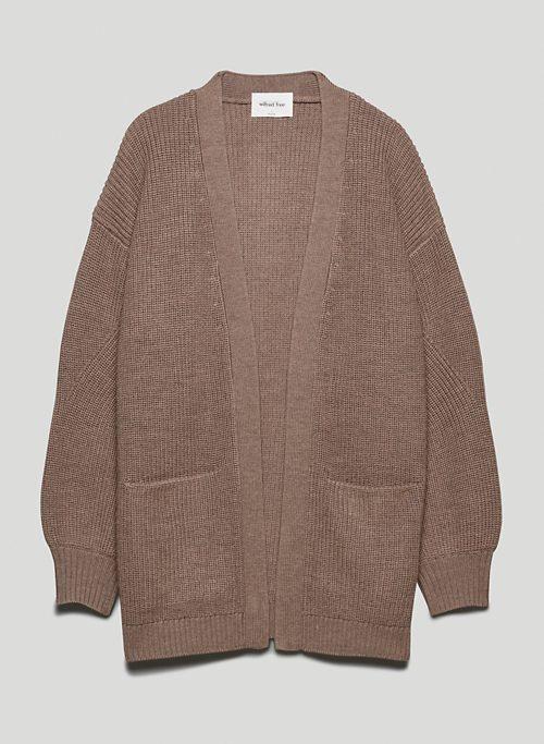 UNWIND CARDIGAN - Oversized cardigan
