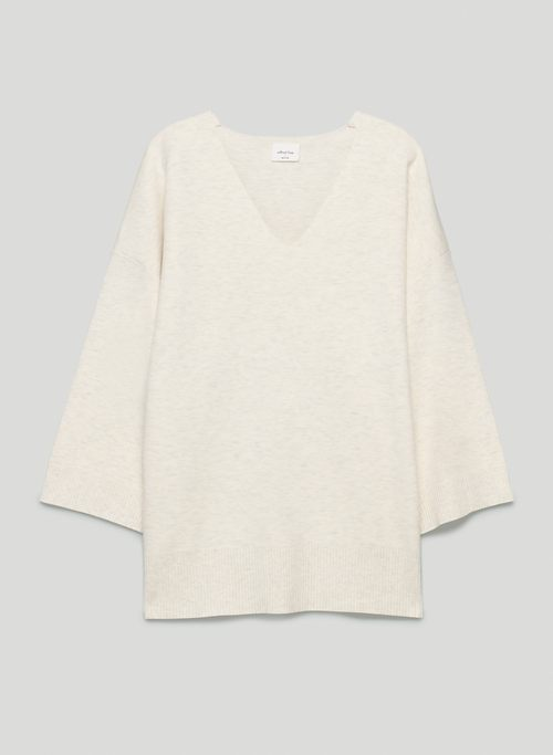 SOUVENIR SWEATER - Oversized, V-neck sweater