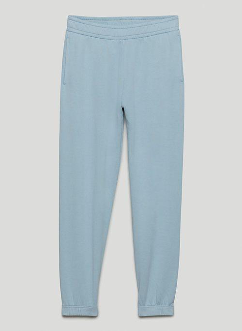 FREE TERRY FLEECE JOGGER - High-waisted organic cotton sweatpants