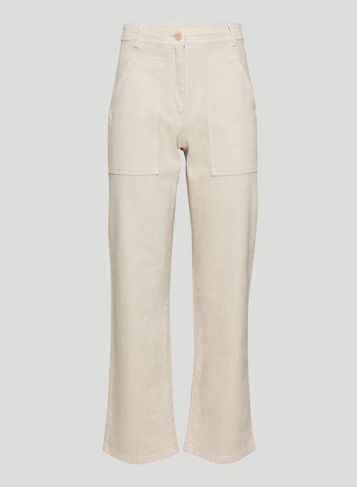 MODERN UTILITY PANT - High-waisted utility pants
