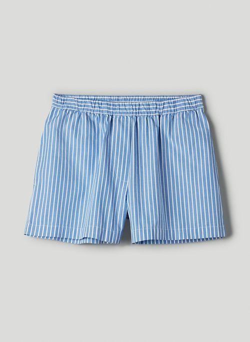 BREEZE SHORT - High-waisted poplin shorts