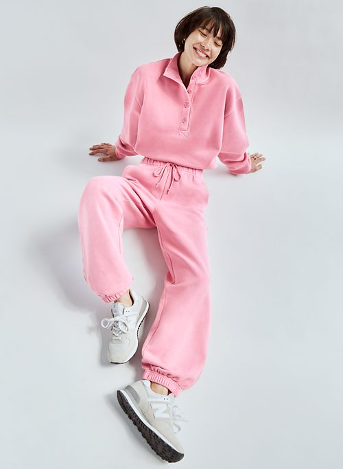 FREE FLEECE OVERSIZED JOGGER - Relaxed, high-waisted joggers