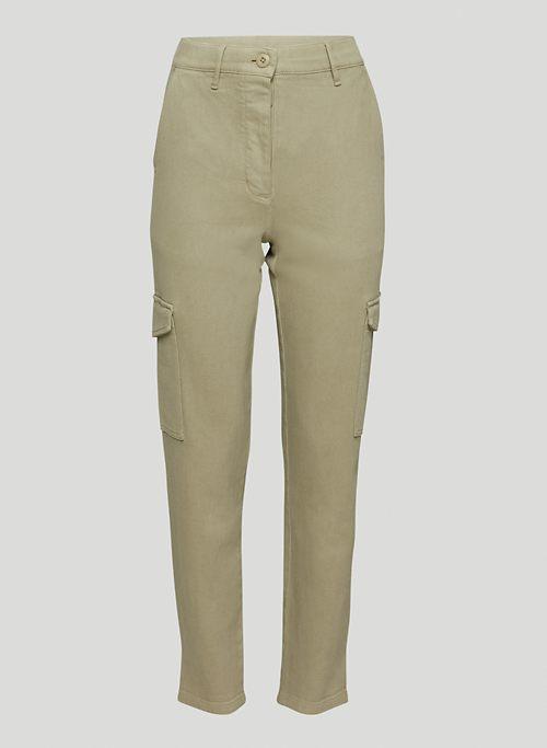 MODERN CARGO PANT - High-waisted cargo pants