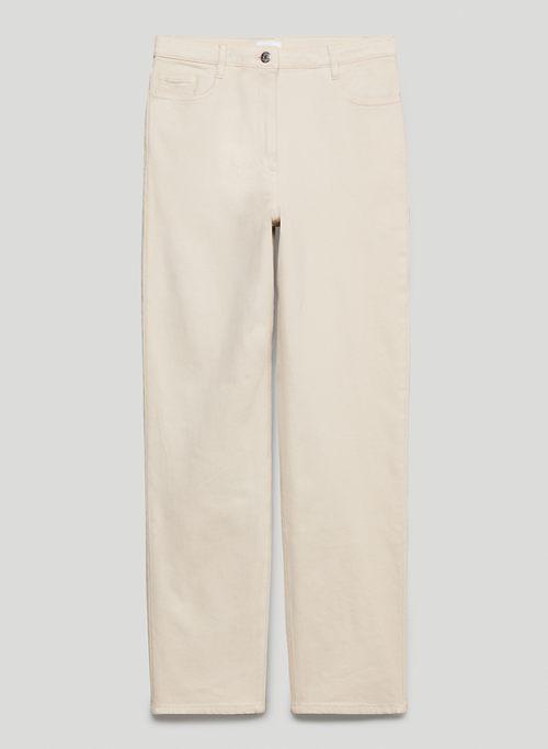 MELINA PANT - High-waisted, slim-fit twill pants